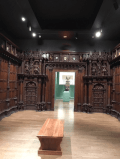 My favorite room, the Elizabethan panels!