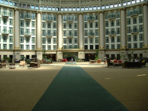 West Baden under the dome.