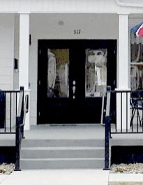 Main doors.