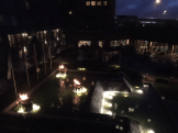 Our view by night.