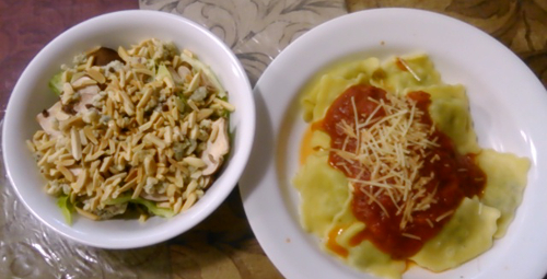 pasta and salad 2