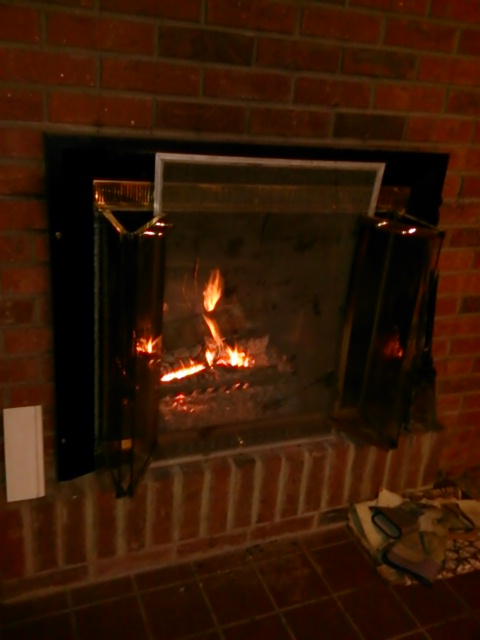 toasty warm fire