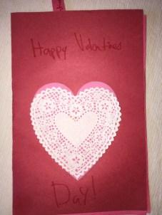 Patrick's card