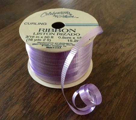 RibbonCURLED