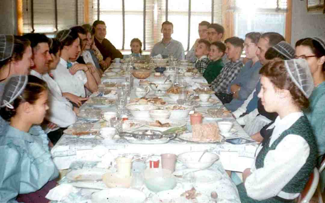 Remembering Sunday Dinners, PA Dutch Style and a New Author