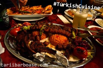 Am mâncat ca un sultan la Restaurant Marmara