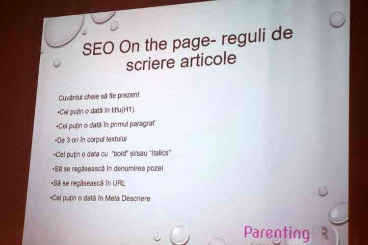 SEO conform Digital Parents Talks