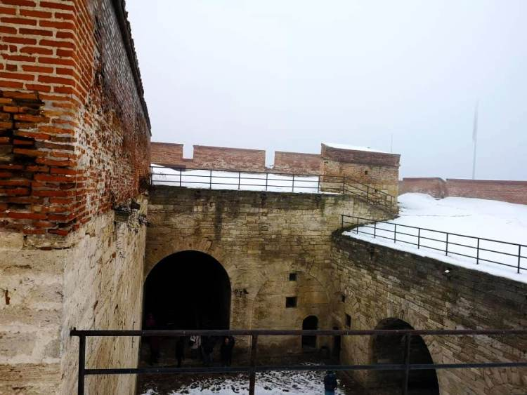 Cetatea Baba Vida - interior