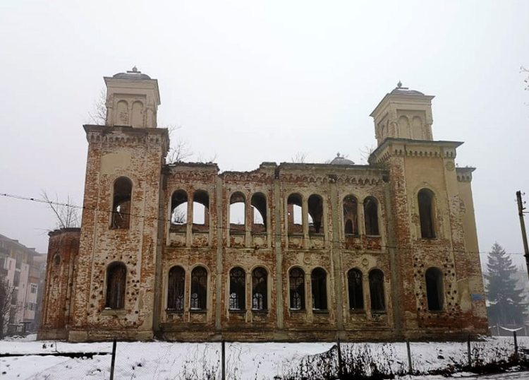 Sinagoga din Vidin, 2019 iarna