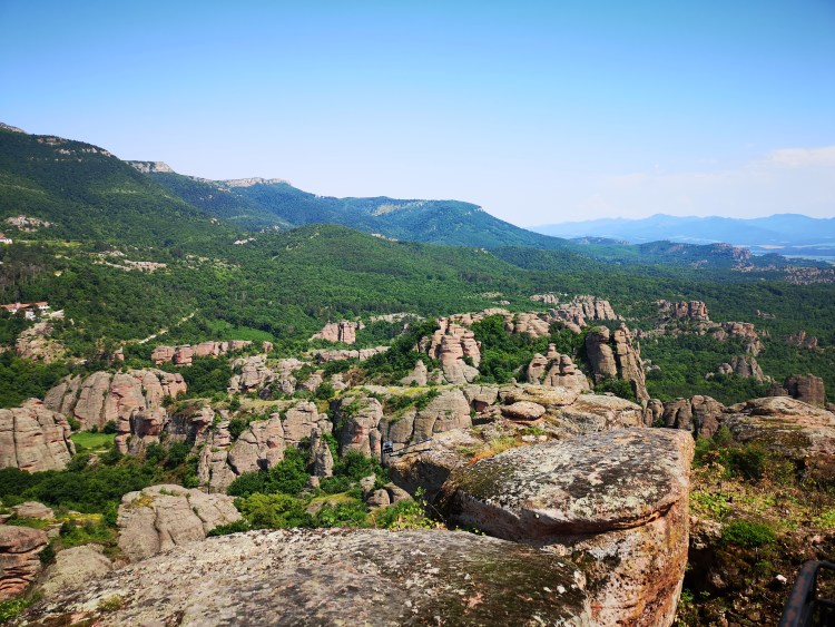 Beautiful Belogradchik Rocks Landscape