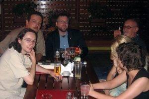 Marian Coman, Horia Nicola Ursu, Jeff VanderMeer și Michael Haulică