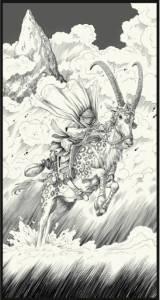 Haiganu - antilopa de fistic