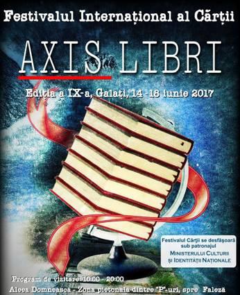 Haiganu, la Festivalul Internațional al Cărții Axis Libri