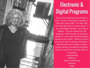Marian offers digital and elearning programs.