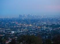 LA at sunset