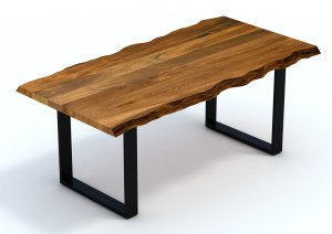 Live Edge Wood Dining Table