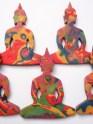 polymer clay buddha pendants