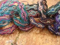 Macramé double wave bracelets