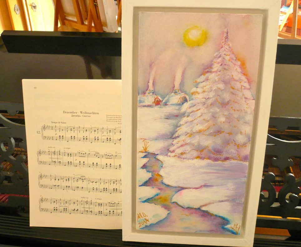 Winter. Four Seasons. Music in color... by © MariAnna MO Warr