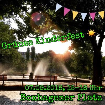 Kinderfest und Familienfest Boxhagener Platz