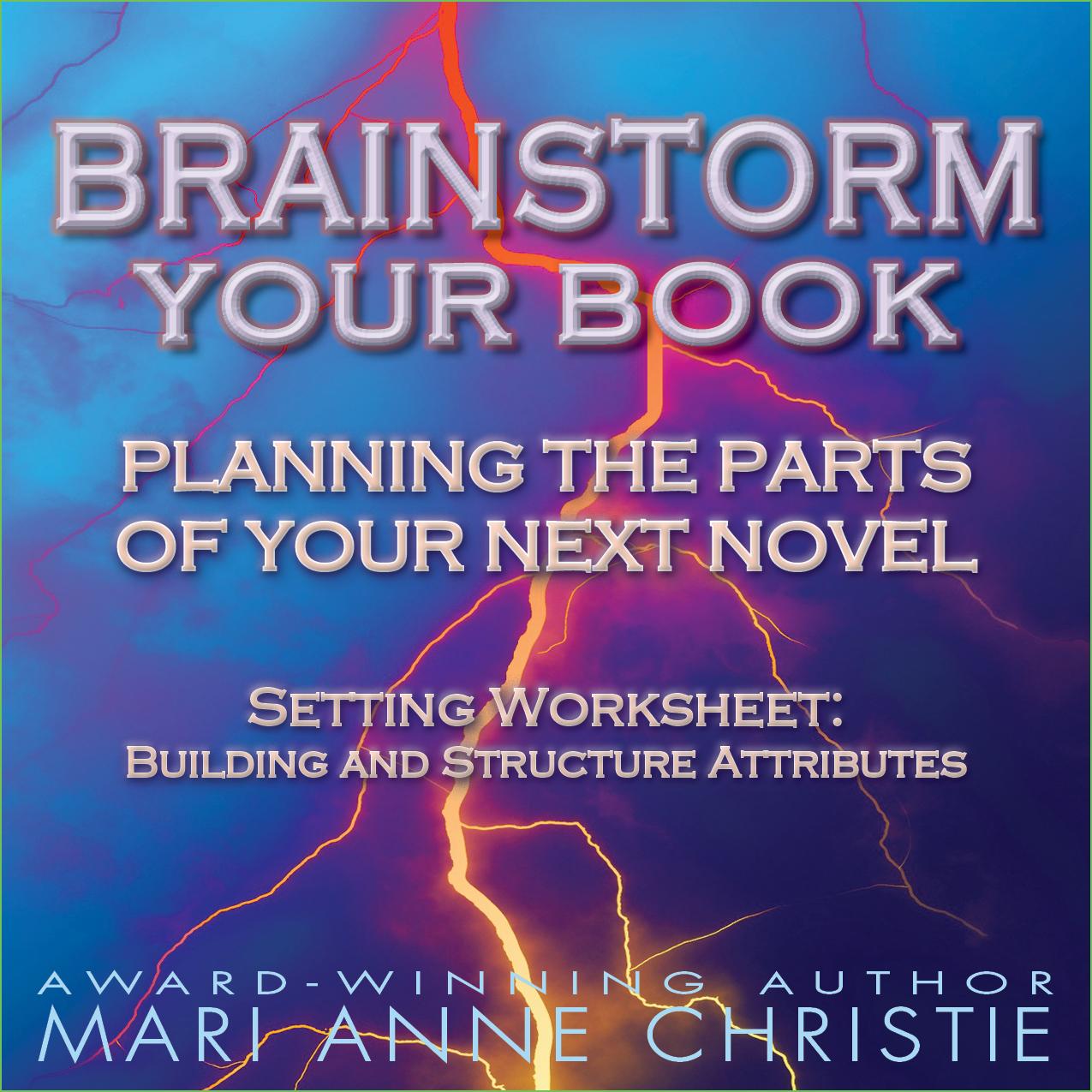 Brainstorm Your Book Mari Anne Christie