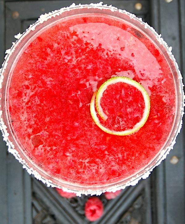 Idemagasinets tre cocktails med bringebær: Mojito, Margarita og Martini