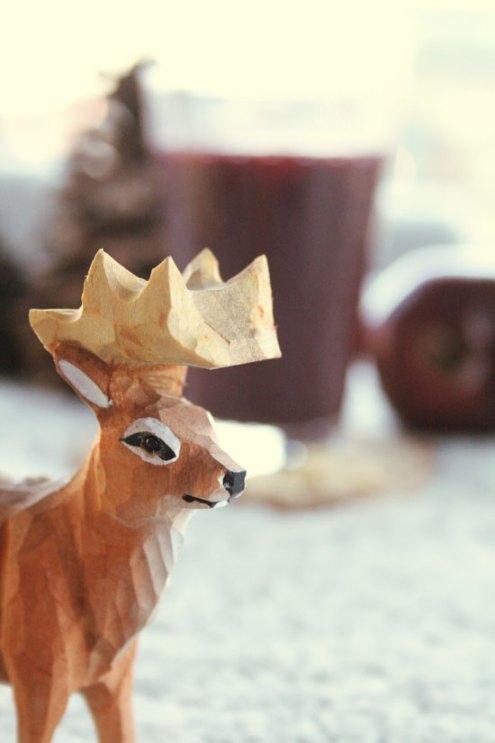 Rudolph spør pent om han ikke kan være så snill å få smake