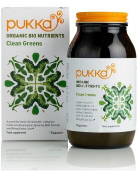 Ingeniørfruen tipser om Clean Greens fra Pukka
