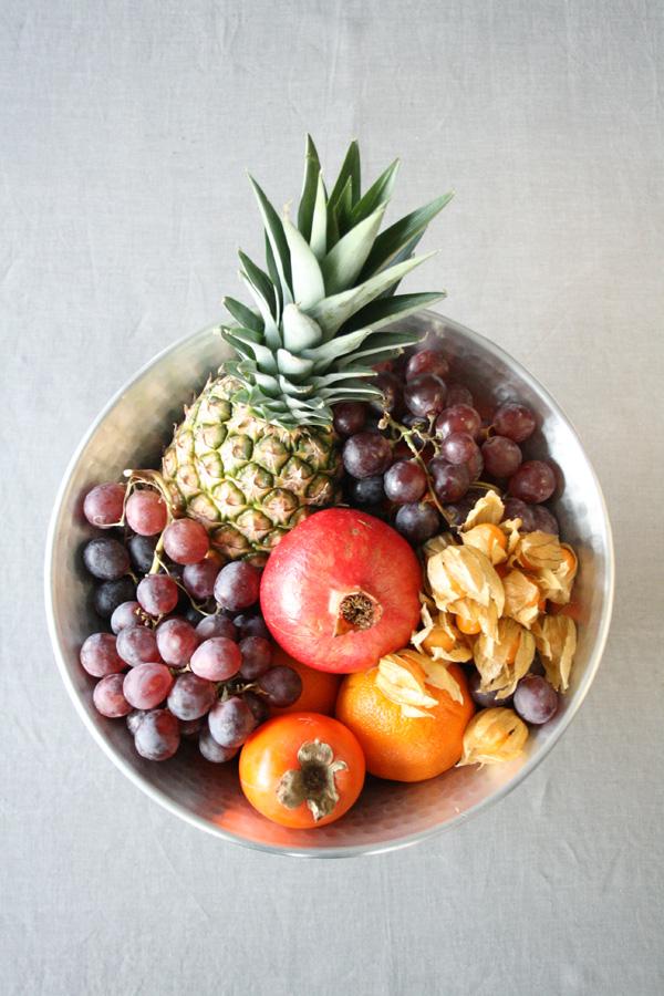 Ingeniørfruens champagnekjøler som fruktfat 1