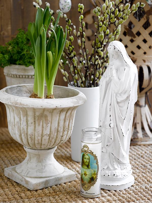 Pynt til påske med grønt