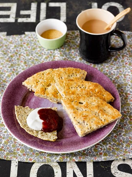 Ingeniørfruens-oppskrift-på-scones-med-lavkarbo-brødmix
