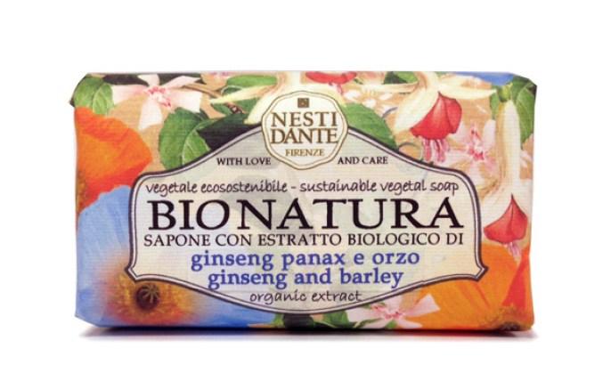 Naturelig såpe fra Nesti Dante med bygg og ginseng