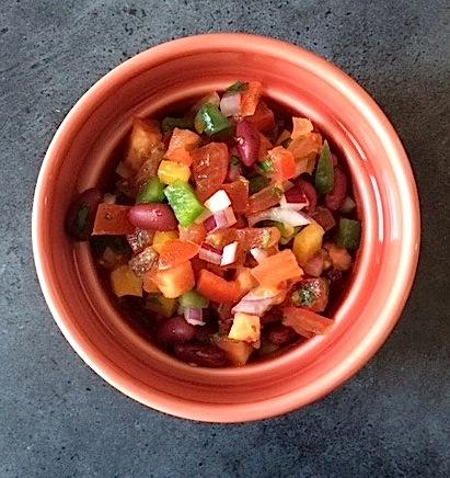 Meksikansk salsa med ekstra omega