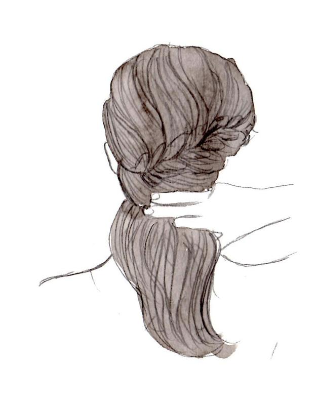 Flette-hår-selv