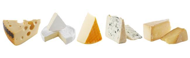 Hvilke oster velger jeg til ostefatet