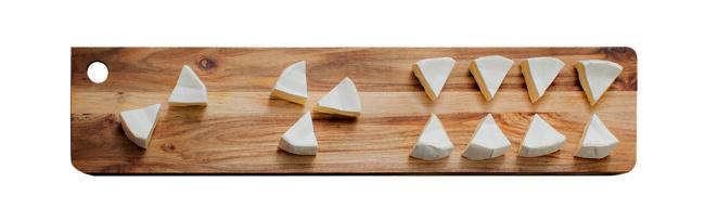 Hvordan legge opp osten på ostefatet