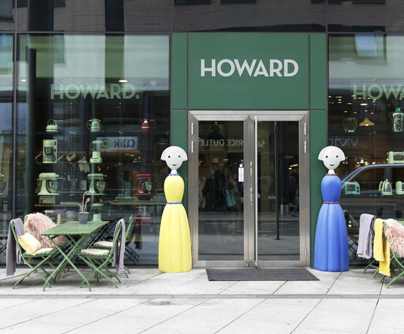 Howard ny butikk på Skøyen i Oslo