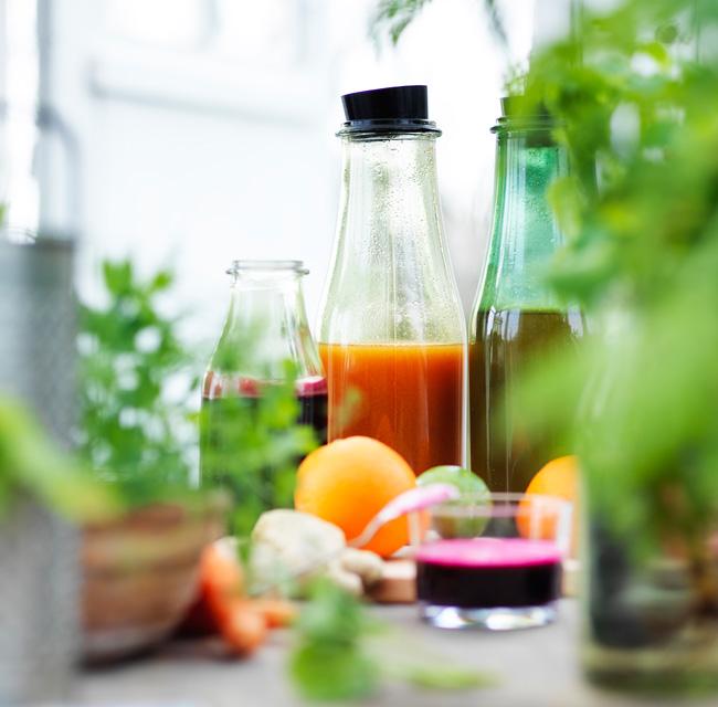 Lag-sunne-grønnsakjuicer