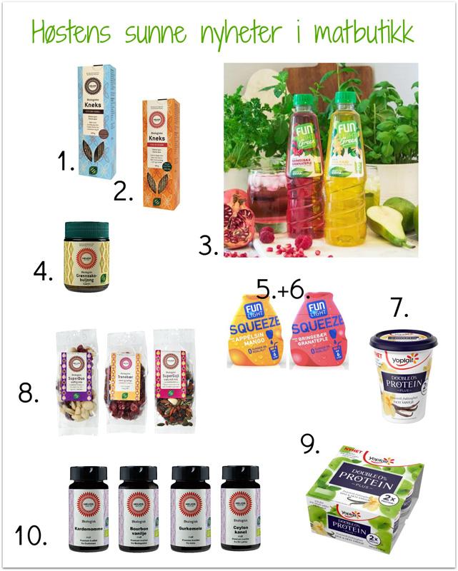 NYHETER AKKURAT NÅ - Høstens sunne nyheter i matbutikk