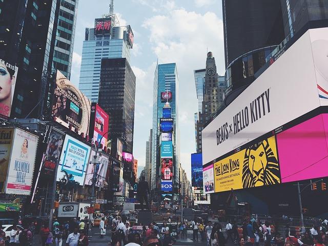 REISETIPS Reis til New York med barn - Times Square