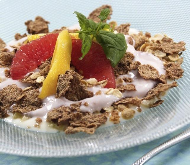 FROKOST PÅ 5:2-DIETTEN: Frisk frokostblanding (47.9 kcal)