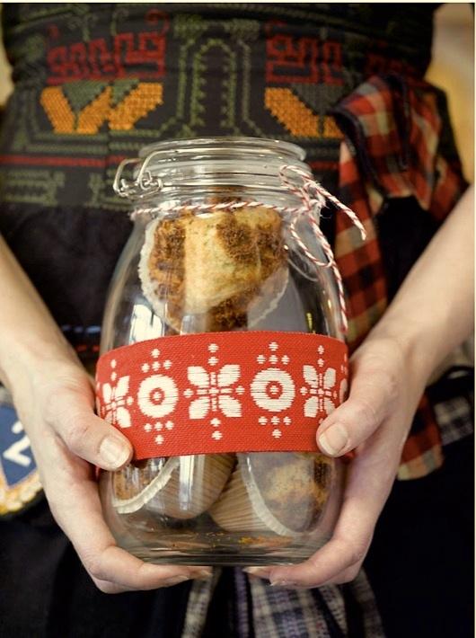 Oppskrifter med pepperkaker - pepperkakemuffins