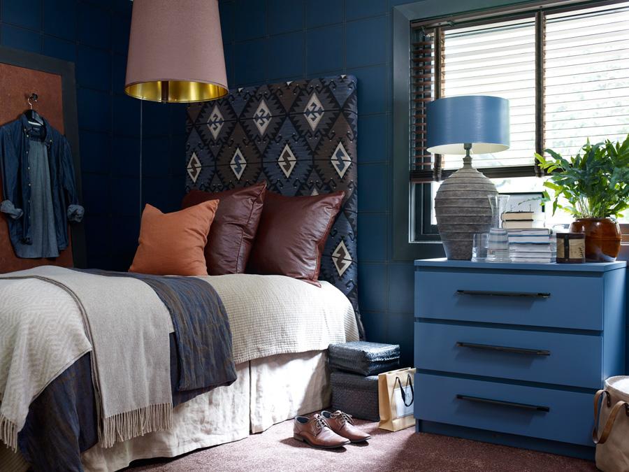 INTERIØRTIPS Blått er riktig på soverommet