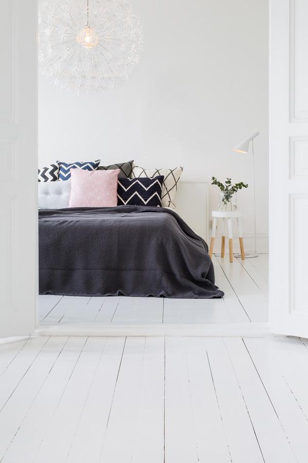 INTERIØRTIPS Eiendomsmeglerne råder deg til å male hvitt FOTO Nordsjö