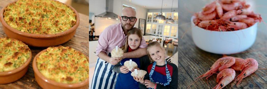 Tips om sjømat fra matblogger Lars