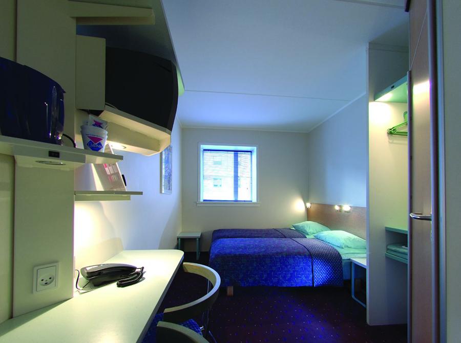 REISE Hotte hoteller i Danmark - Hotel CabInn Commodore