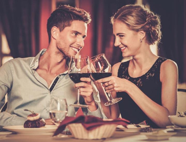 Romantisk mat på første date – eller romantisk aften med kjæresten