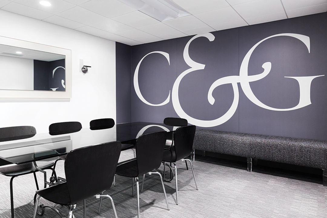 C&G Media Group refreshes their conference room with a stunning remodel