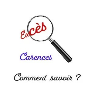 exces carences