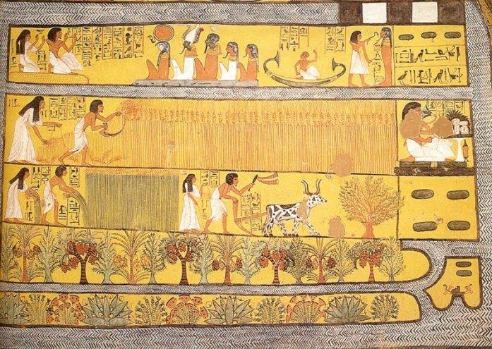 la culture du lin en Egypte ancienne